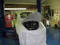 1966 vw bug miss hilda beetle